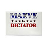 MAEVE for dictator Rectangle Magnet (10 pack)