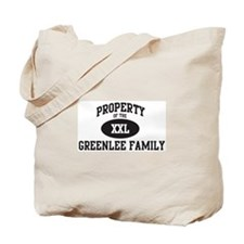 Property of Greenlee Family Tote Bag