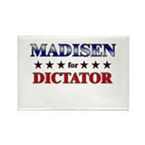 MADISEN for dictator Rectangle Magnet (10 pack)
