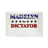 MADELYN for dictator Rectangle Magnet (10 pack)