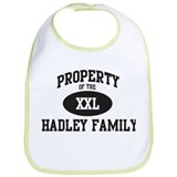 Property of Hadley Family Bib