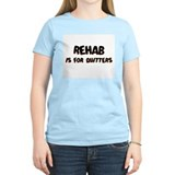 REHAB Women's Pink T-Shirt