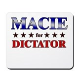 MACIE for dictator Mousepad