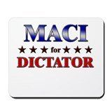 MACI for dictator Mousepad
