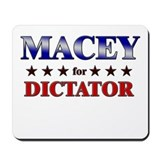 MACEY for dictator Mousepad