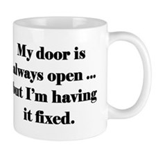 Open Door Policy Mug