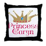 Princess Caryn Throw Pillow