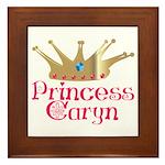 Princess Caryn Framed Tile