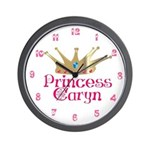 Princess Caryn Wall Clock