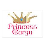 Princess Caryn Postcards (Package of 8)