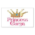 Princess Caryn Rectangle Sticker