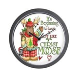 Christ Moose Wall Clock