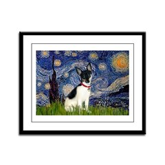 Starry / Toy Fox T Framed Panel Print