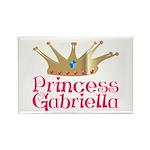 Princess Gabriella Rectangle Magnet (100 pack)