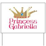 Princess Gabriella Yard Sign
