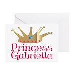 Princess Gabriella Greeting Cards (Pk of 10)