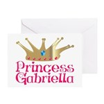 Princess Gabriella Greeting Card