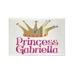 Princess Gabriella Rectangle Magnet