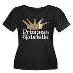 Princess Gabriella Women's Plus Size Scoop Neck Da