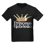 Princess Gabriella Kids Dark T-Shirt