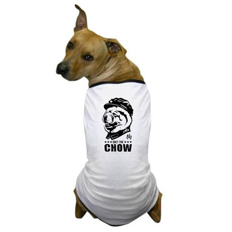 Obey the CHOW! Chairman Chow Dog T-Shirt
