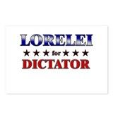 LORELEI for dictator Postcards (Package of 8)