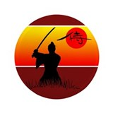 Samurai Spirit 2 3.5&quot; Button