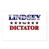 LINDSEY for dictator Postcards (Package of 8)