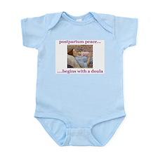 Postpartum Peace Doula Infant Creeper