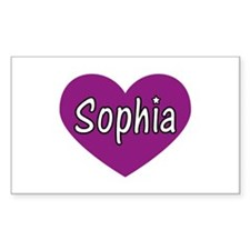 Sophia Rectangle Decal