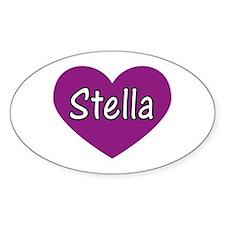 Stella Oval Decal