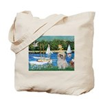Bassin/Shih Tzu (P) Tote Bag