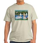 Bassin/Shih Tzu (P) Light T-Shirt