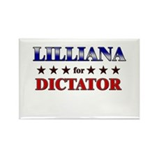 LILLIANA for dictator Rectangle Magnet