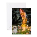 MidEve/Shih Tzu (P) Greeting Cards (Pk of 20)