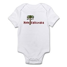 Hawaiian Christmas Infant Bodysuit
