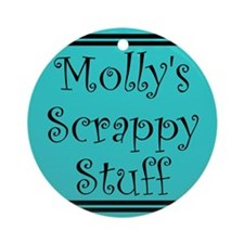 """""""Molly"""" Tote Tag (Round)"""