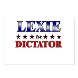LEXIE for dictator Postcards (Package of 8)