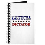 LETICIA for dictator Journal