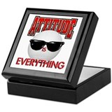 Attitude is Everything Keepsake Box