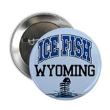 "Ice Fish Wyoming 2.25"" Button"