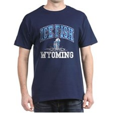 Ice Fish Wyoming T-Shirt
