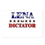 LENA for dictator Postcards (Package of 8)