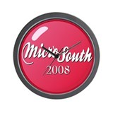 MicroSouth 2008 Wall Clock
