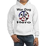 War Dog K9 Hero Hooded Sweatshirt