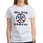 War Dog K9 Hero Women's T-Shirt