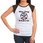 War Dog K9 Hero Women's Cap Sleeve T-Shirt
