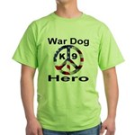 War Dog K9 Hero Green T-Shirt