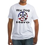 War Dog K9 Hero Fitted T-Shirt