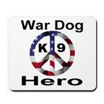 War Dog K9 Hero Mousepad
